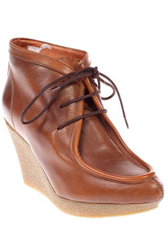emma et go boots femme de couleur marron