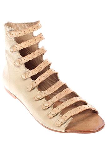 tatoosh sandales et nu et pieds femme de couleur beige