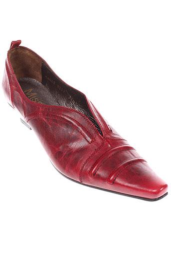 miss fidji chaussures femme de couleur rouge