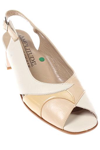 sonate chaussures femme de couleur beige