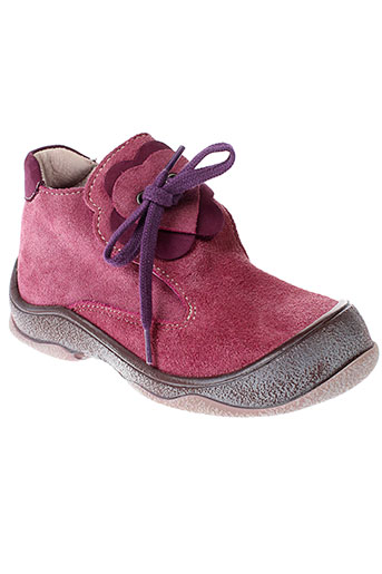 bellamy boots fille de couleur rose