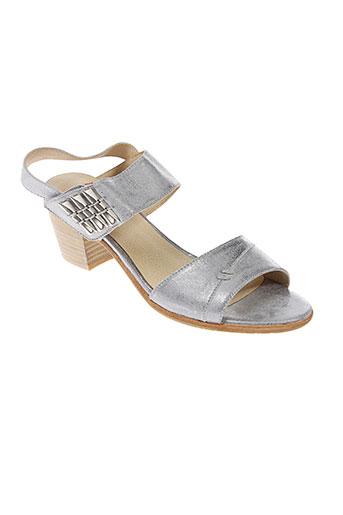 un et matin et d et ete sandales et nu et pieds femme de couleur gris