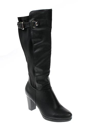 cokett bottes femme de couleur noir