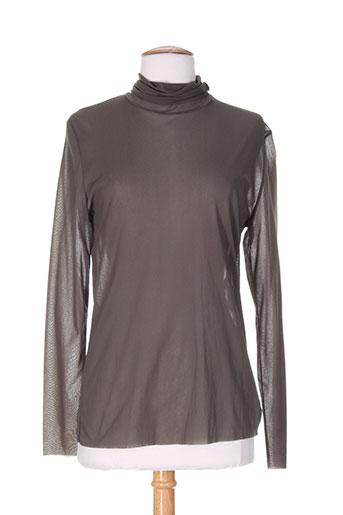 aldo martin's chemises femme de couleur marron