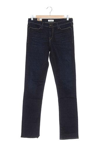 lee et cooper jeans et coupe et slim femme de couleur bleu