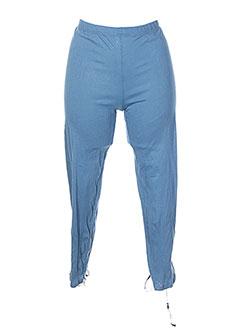 Legging bleu GRIFFONNAGE pour femme