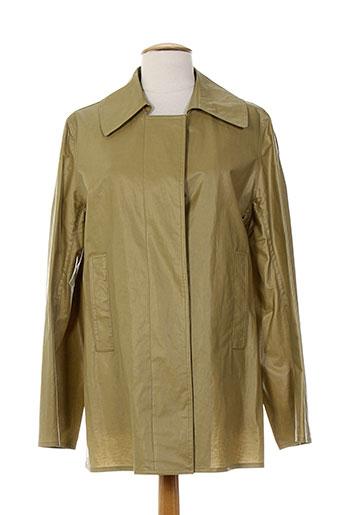 ramosport manteaux femme de couleur marron