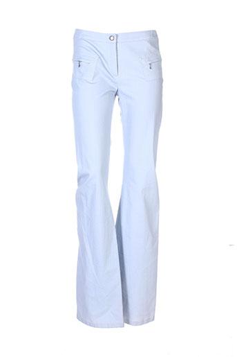 rech et sport pantalons et decontractes femme de couleur bleu