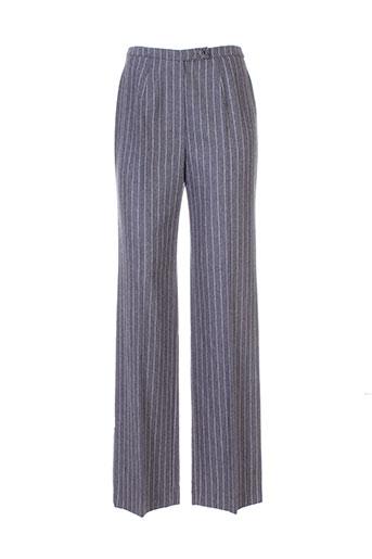 georges rech pantalons femme de couleur gris