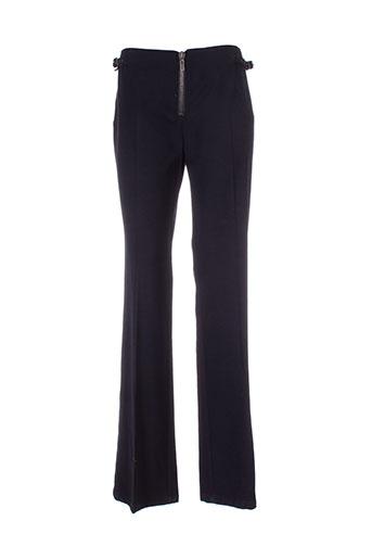 beatrice.b pantalons femme de couleur noir