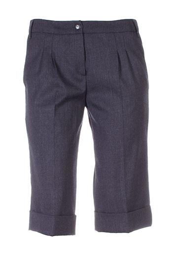 helena sorel shorts / bermudas femme de couleur gris