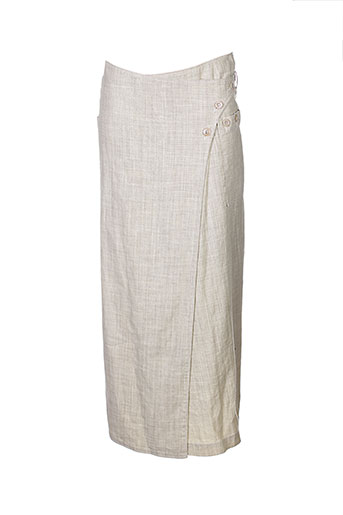 rech sport jupes femme de couleur beige