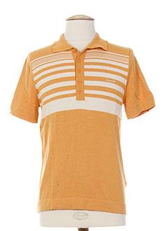 Polos à manches courtes Sonneti orange homme oOsbo
