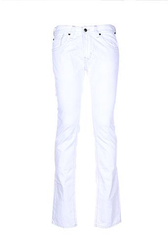 kaporal jeans homme de couleur blanc