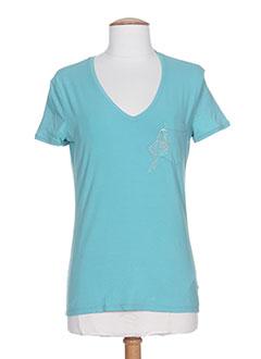 Produit-T-shirts / Tops-Femme-ARMANI
