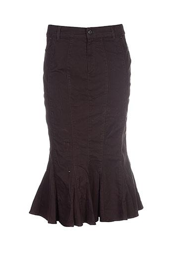 rosa rosam jupes femme de couleur marron