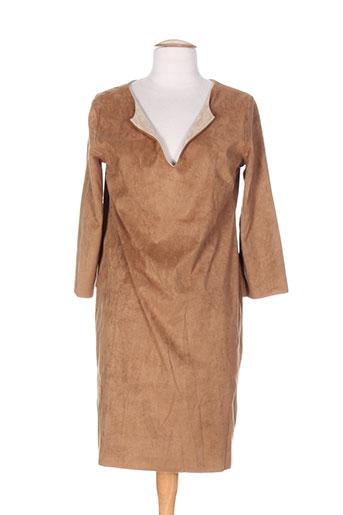 holly EFFI_CHAR_1 joey robes femme de couleur marron
