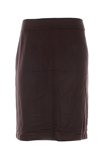 jean-luc francois jupes femme de couleur marron