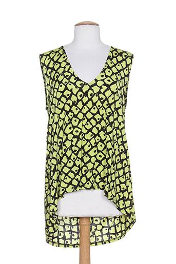 carla montanarini chemises femme de couleur vert