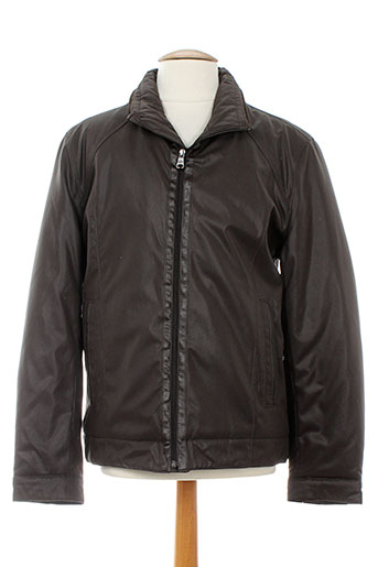 casual spirit vestes homme de couleur marron