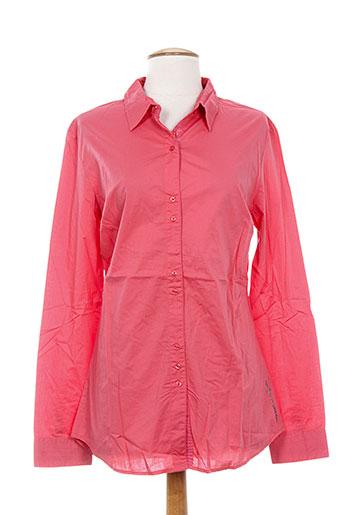guess chemises femme de couleur orange