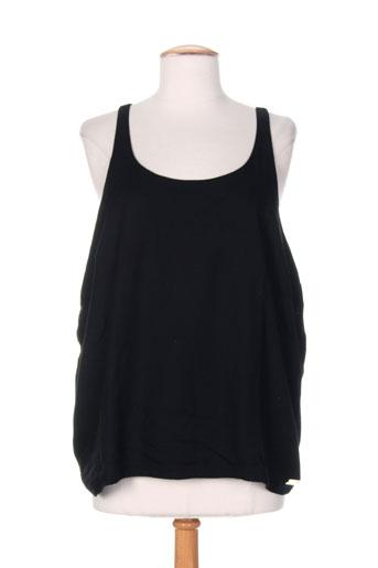 little marcel chemises femme de couleur noir