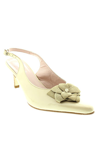 ayame escarpins femme de couleur beige
