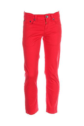 levis pantalons et decontractes garcon de couleur rouge