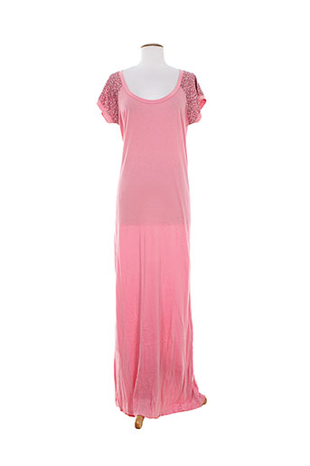 charlie joe robes femme de couleur rose