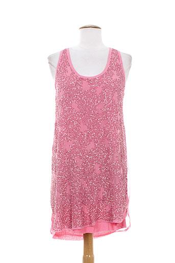 charlie joe tuniques femme de couleur rose