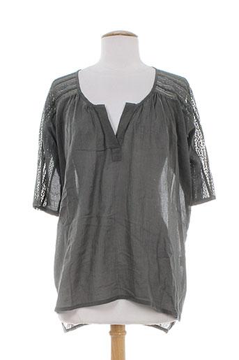 charlie joe chemises femme de couleur gris