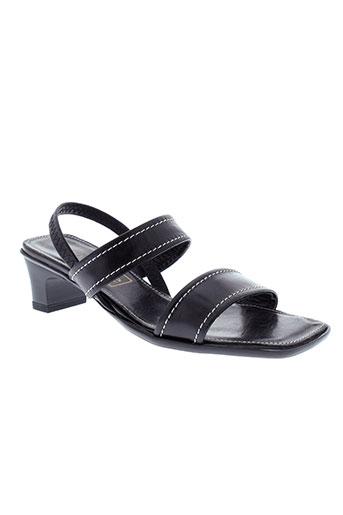 nordaline de marco chaussures femme de couleur noir
