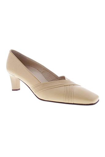 hogl chaussures femme de couleur beige