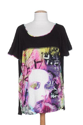 elie bonnie t-shirts femme de couleur noir