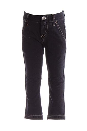 benetton pantalons et decontractes fille de couleur noir