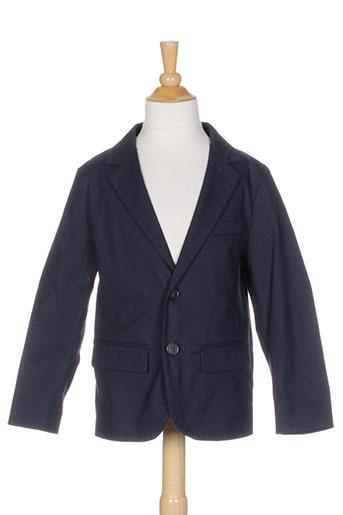 Veste chic / Blazer bleu BENETTON pour garçon