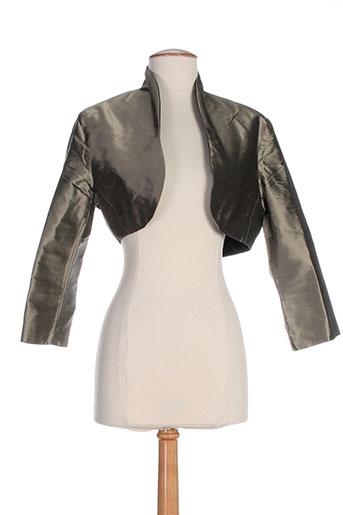 linea raffaelli vestes femme de couleur marron