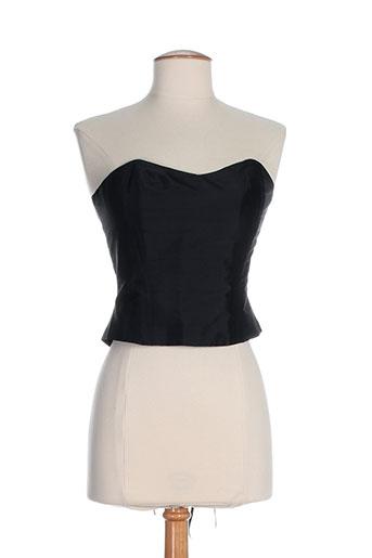 elsa gary chemises femme de couleur noir