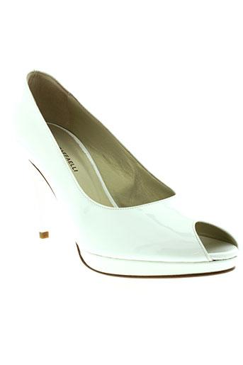 linea raffaelli chaussures femme de couleur blanc