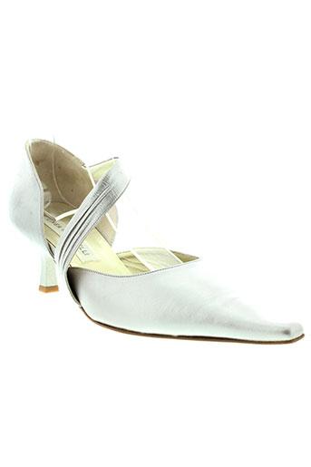 linea raffaelli chaussures femme de couleur gris