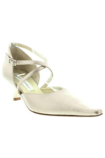 linea raffaelli chaussures femme de couleur beige