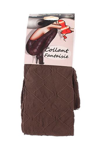 lauve lingerie femme de couleur marron