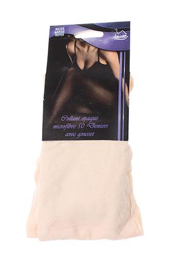 lauve lingerie femme de couleur beige