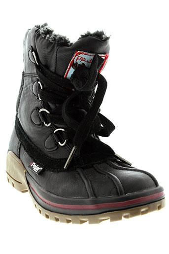 pajar boots enfant de couleur noir
