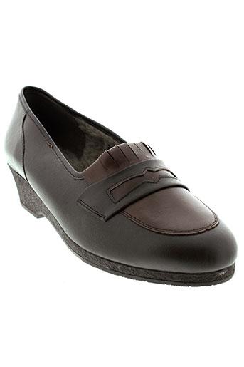 jmg houcke chaussures femme de couleur marron