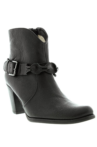 fugitive et by et francesco et rossi boots femme de couleur noir