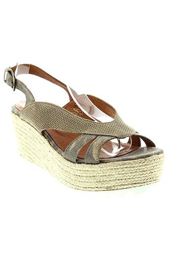 minka et design sandales et nu et pieds femme de couleur marron