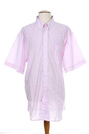 belloni chemises homme de couleur rose