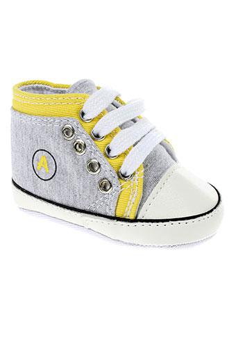 absorba chaussons enfant de couleur jaune