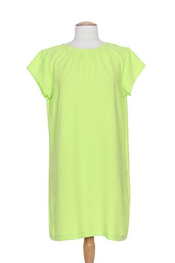 fracomina robes femme de couleur vert